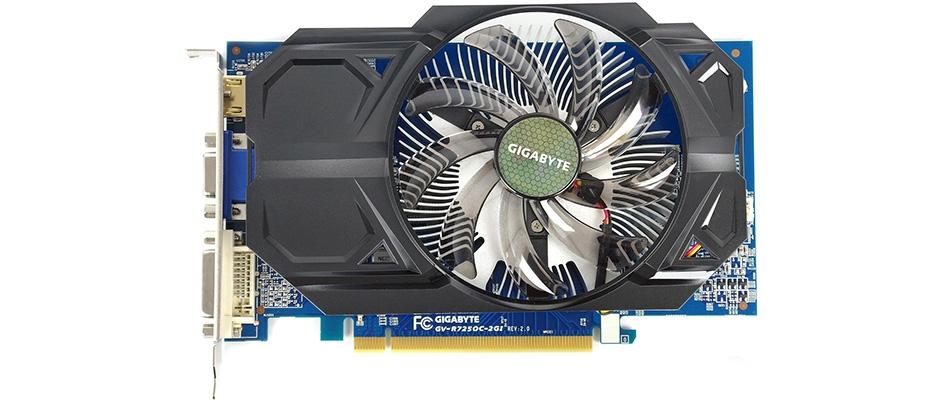 Видеокарта Gigabyte GV-R725OC-2GI Radeon R7 250