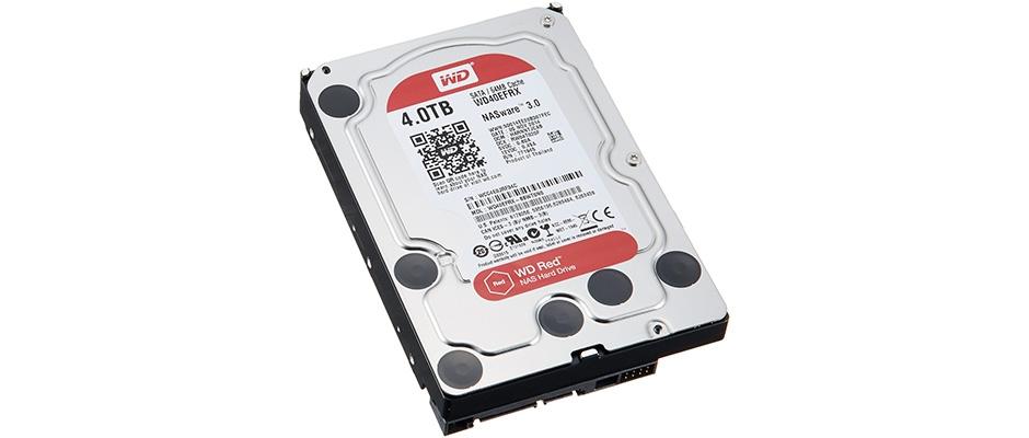 Обзор жесткого диска WD Original WD40EFRX Red