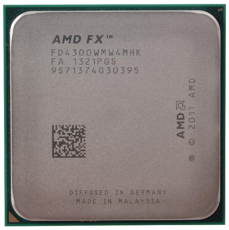 Четырехъядерный процессор AMD FX-4300 за 4350 руб!