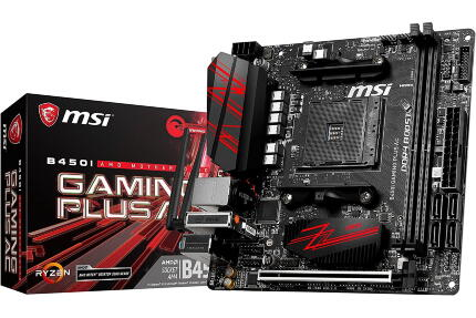 Материнская плата MSI B450I GAMING PLUS AC, AMD B450, sAM4, mini-ITX