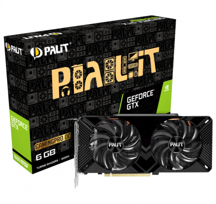 Видеокарта Palit PA-GTX1660 SUPER Dual OC 6G, NVIDIA GeForce GTX 1660 SUPER, 6Gb GDDR6