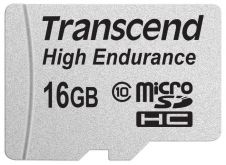Карта памяти Transcend 16GB microSDHC Card UHS-I Class 10 High Endurance R/W 21/20 MB/s