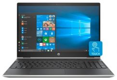 "Трансформер HP Pavilion x360 15-cr0004ur Core i5 8250U/ 8Gb/ 1Tb/ SSD128Gb/ AMD Radeon 530 2Gb/ 15.6""/ IPS/ Touch/ FHD (1920x1080)/ Windows 10 64/ silver/ WiFi/ BT/ Cam"