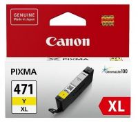 Чернильница Canon CLI-471XL Yellow для MG5740/6840/7740 (715 стр)