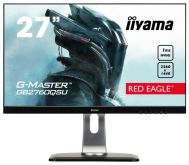 "Монитор Iiyama 27"" G-Master GB2760QSU-B1 черный TN+film LED 1ms 16:9 DVI HDMI M/M матовая HAS Pivot 350cd 170гр/160гр 2560x1440 DisplayPort QHD USB 6.4кг"