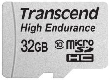 Карта памяти Transcend 32GB microSDHC Card UHS-I Class 10 High Endurance R/W 21/20 MB/s
