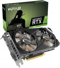 Видеокарта KFA2 GeForce RTX 2060 (1-Click OC), NVIDIA GeForce RTX 2060, 6Gb GDDR6