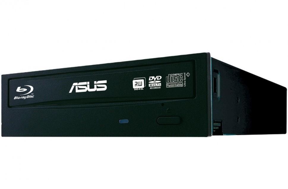 Привод BD-Rom/DVD+/-RW Asus BC-12D2HT/BLK/G/AS черный SATA int RTL BC-12D2HT/BLK/G/AS
