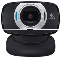 Веб-камера Logitech HD Webcam C615 черный (1920x1080) USB2.0 с микрофоном