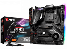 Материнская плата MSI MPG X570 GAMING PRO CARBON WIFI, AMD X570, sAM4, ATX
