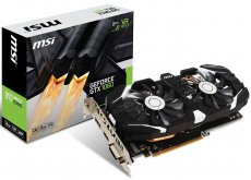 Видеокарта MSI GTX 1060 3GT OC, NVIDIA GeForce GTX 1060, 3Gb GDDR5