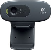 Веб-камера Logitech HD Webcam C270 черный USB2.0 с микрофоном