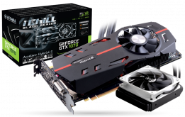 Видеокарта Inno3D iChill GeForce GTX 1070 Black, NVIDIA GeForce GTX 1070, 8Gb GDDR5