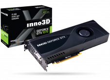 Видеокарта Inno3D GeForce GTX 1070 Jet, NVIDIA GeForce GTX 1070, 8Gb GDDR5