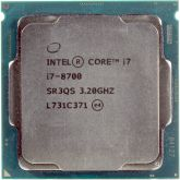 Процессор Intel Core i7-8700 3.2GHz s1151 OEM