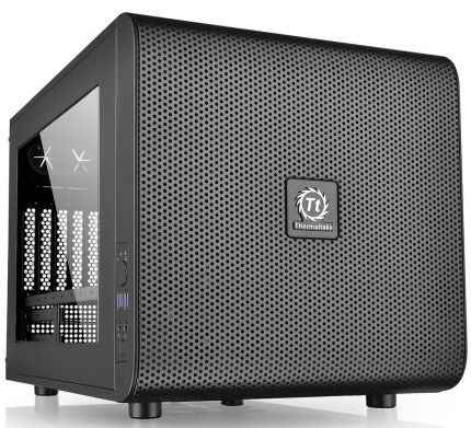 Корпус Thermaltake Core V21 черный, без БП, mATX