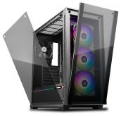 Корпус Deepcool MATREXX 70 ADD-RGB 3F черный, без БП, EATX