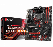 Материнская плата MSI B450 GAMING PLUS MAX, AMD B450, sAM4, ATX