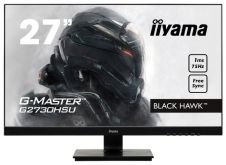 "Монитор Iiyama 27"" G2730HSU-B1 черный TN+film LED 1ms 16:9 DVI HDMI M/M матовая HAS Pivot 12000000:1 300cd 170гр/160гр 1920x1080 DisplayPort USB"
