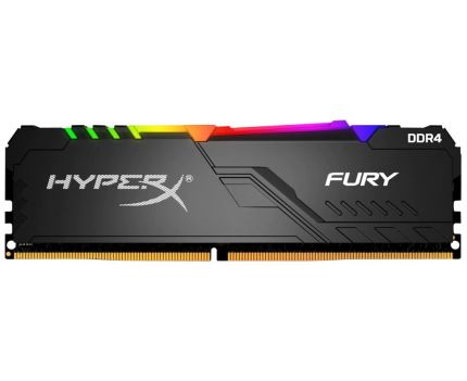 Модуль памяти Kingston 16Gb 3466MHz DDR4 HyperX FURY RGB (HX434C16FB3A/16)