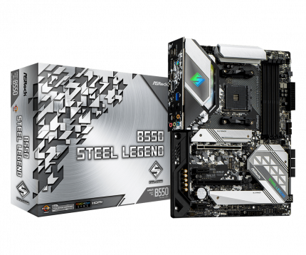 Материнская плата ASRock B550 STEEL LEGEND, AMD B550, sAM4, ATX