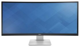 "Монитор 34"" Dell UltraSharp U3415W черный IPS LED 8ms 21:9 HDMI M/M матовая HAS Pivot 1000:1 350cd 178гр/172гр 3440x1440 DisplayPort USB"