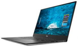 "Ультрабук Dell XPS 15 Core i7 8750H/ 16Gb/ SSD512Gb/ nVidia GeForce GTX 1050Ti 4Gb/ 15.6""/ IPS/ Touch/ UHD (3840x2160)/ Windows 10 Professional/ silver/ WiFi/ BT/ Cam"