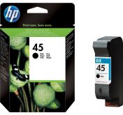 Картридж HP 45 Black Large для DJ 710c/ 720c/ 722c/ 815c/ 820cXi/ 850c/ 870cXi/ 1100c/ 880c/ 890c/ 895cXi/ 930c/ cm/ 950c/ 959c/ 960c/ 970cXi/ 980cXi/ 990cXi/ cm/ 995c/ 1120c/ 1125c/ 1180c/ 1220c