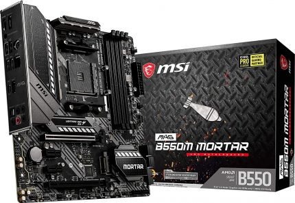 Материнская плата MSI MAG B550M MORTAR, AMD B550, sAM4, mATX