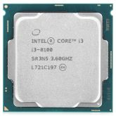 Процессор Intel Core i3-8100 3.6GHz s1151 OEM