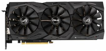 Видеокарта Asus ROG-STRIX-RTX2060-A6G-GAMING, NVIDIA GeForce RTX 2060, 6Gb GDDR6
