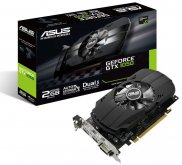 Видеокарта Asus PH-GTX1050-2G, NVIDIA GeForce GTX 1050, 2048Mb GDDR5