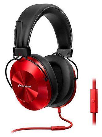 Гарнитура Pioneer SE-MS5T-R 1.2м красный SE-MS5T-R