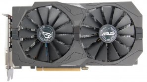 Видеокарта Asus STRIX-GTX1050-O2G-GAMING, NVIDIA GeForce GTX 1050, 2048Mb GDDR5