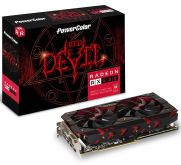 Видеокарта PowerColor Red Devil AXRX 580 8GBD5-3DH/OC, AMD Radeon RX 580, 8Gb GDDR5