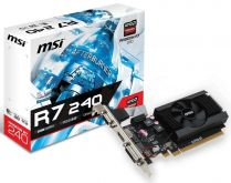 Видеокарта MSI R7 240 2GD3 64b LP, AMD Radeon R7 240, 2Gb DDR3