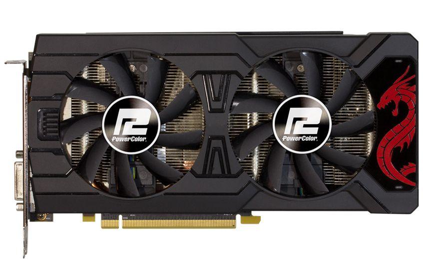 Видеокарта PowerColor Red Dragon AXRX 570 4GBD5-3DHD OC, AMD Radeon RX 570 8f871a157bc
