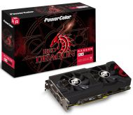 Видеокарта PowerColor Red Dragon AXRX 570 4GBD5-3DHD/OC, AMD Radeon RX 570, 4Gb GDDR5