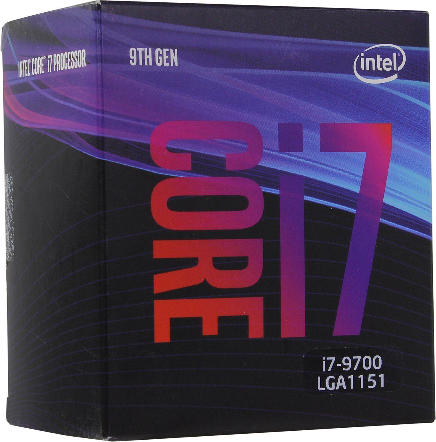 インテル core i7 9700