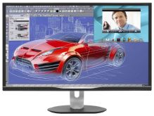 "Монитор Philips 32"" BDM3270QP (00/01) черный AMVA LED 16:9 DVI HDMI M/M матовая HAS Pivot 300cd 2560x1440 D-Sub DisplayPort QHD USB 10.76кг"