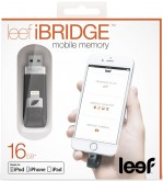 Флешка LEEF iBridge 16GB черный