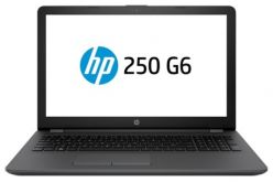 "Ноутбук HP 250 G6 15.6""(1366x768)/ Intel Core i3 7020U(2.3Ghz)/ 4096Mb/ 500Gb/ DVDrw/ Int:Intel HD/ Cam/ BT/ WiFi/ 41WHr/ war 1y/ 1.86kg/ Dark Ash Silver/ W10"