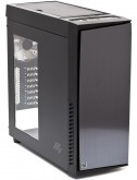 Корпус Zalman R1 черный w/o PSU ATX 1x80mm 1x92mm 3x120mm 2xUSB2.0 1xUSB3.0 audio front door bott PSU