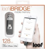 Флешка LEEF iBridge 128GB черный