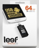 Флешка LEEF Bridge 3.0 64GB Rus Retail pkg