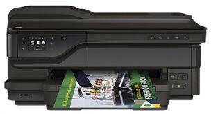 МФУ струйный HP OfficeJet 7612 (G1X85A), A3, принтер/копир/сканер/факс, 1200x4800 т/д, 15/8 стр чб/цвет, дуплекс, 256 Мб, ADF 35 листов, USB 2.0, сеть, Wi-Fi