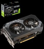 Видеокарта Asus TUF-RTX2060-O6G-GAMING, NVIDIA GeForce RTX 2060, 6Gb GDDR6