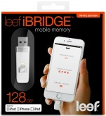 Флешка LEEF iBridge 128GB белый