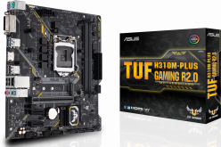 Материнская плата Asus TUF H310M-PLUS GAMING R2.0, Intel H310, s1151v2, mATX