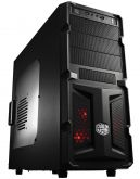 Корпус Cooler Master K350 Black Window, USB3.0, 500W, ATX